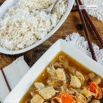 Chop Suey de pollo. Receta asiática fácil