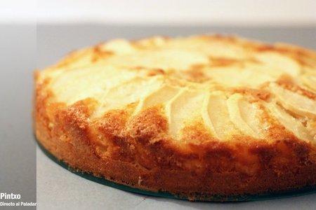 receta de bizcocho de manzana facil