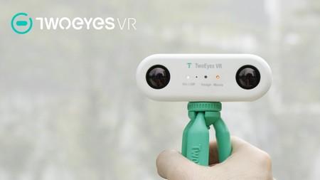 TwoEyes VR es la primera cámara capaz de grabar vídeos VR y 3D
