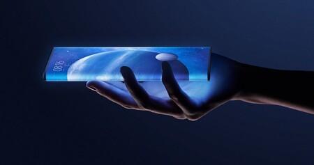 Xiaomi patenta un smartphone plegable que ofrece casi el 100% de aprovechamiento de su panel frontal