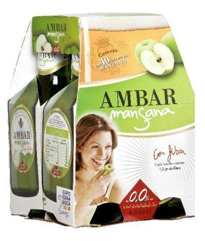 Ambar Mansana, cerveza frutal y sin alcohol