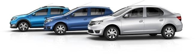 Gama Dacia Sandero y Logan