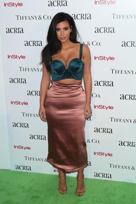 Look Kim Kardashian Evento