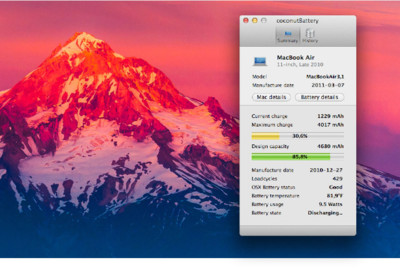 CoconutBattery 3, revive uno de los pioneros del mantenimiento de baterías en nuestros Mac portátiles