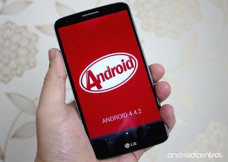 Ya disponible KitKat para el LG G2