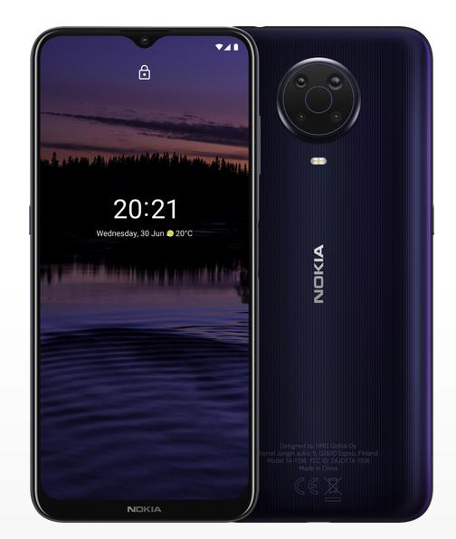 Nokia G20 color Noche, 4 GB de RAM, 64 GB Almacenamiento externo, Dual SIM