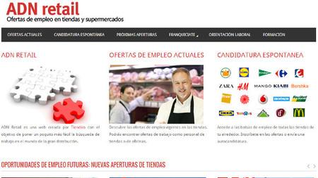 ADN Retail, la web de ofertas de empleo para el sector del comercio