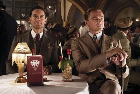 Tobey Maguire y Leonardo DiCaprio en una escena de El Gran Gatsby