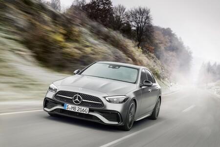 Mercedes Clase C en marcha