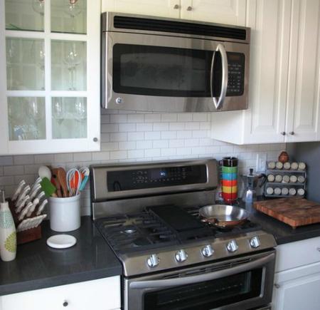 Una cocina de 7 metros cuadrados