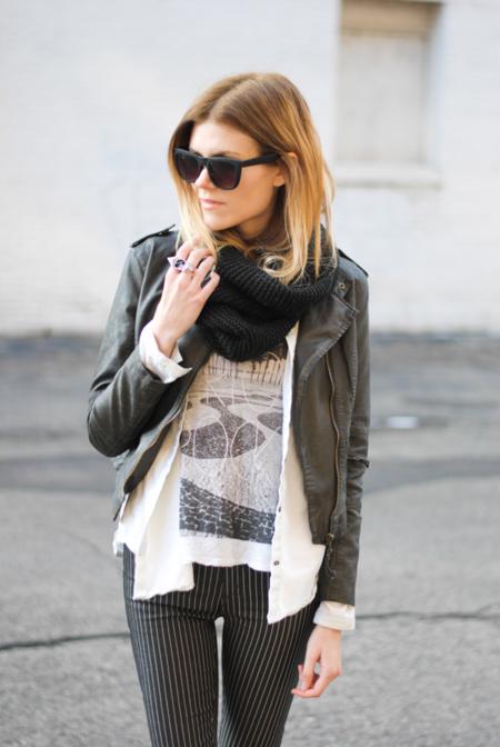 Claves de moda para ir de shopping: ¡no sin mi cazadora de cuero!