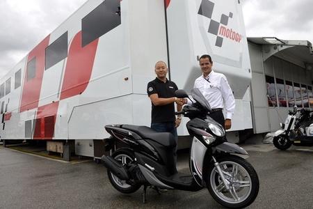 Yamaha X-enter MotoGP, nueva versión de la rueda alta