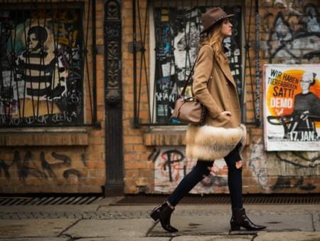 El pelo invade la calle y nos protege del frío (¿con estilo?)