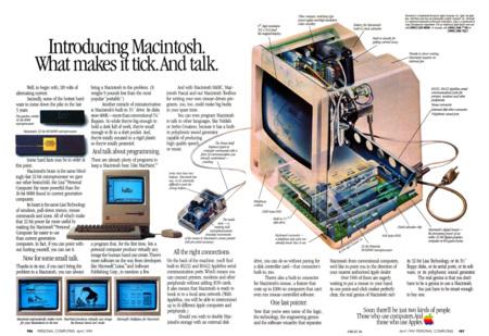 Otros anuncios del Macintosh