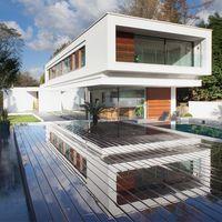 Una casa moderna y sostenible en Surrey