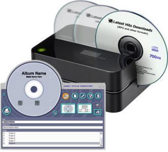 Casio CW-E60, etiqueta tus CDs