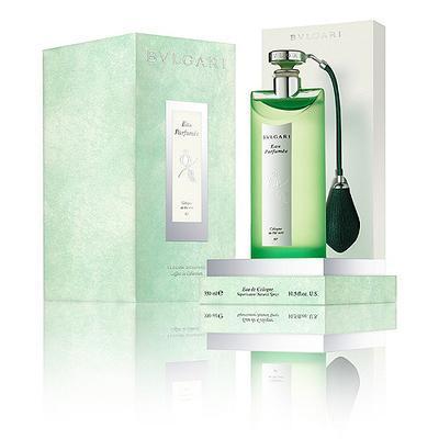 Fragancia Bvulgari Eau Parfumée au thé vert, edición limitada