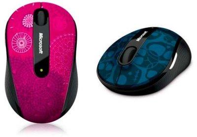 Microsoft Mobile Mouse 4000 propone un diseño juvenil en formato pequeño y funcional