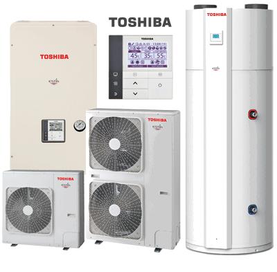 Aerotermia Toshiba