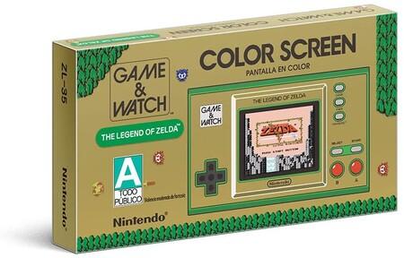 Preventa de Game and Watch The Legend of Zelda en México