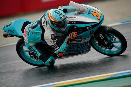 Jaume Masiá logra una pole de récord en Le Mans y Albert Arenas aprovecha la caída de Ai Ogura