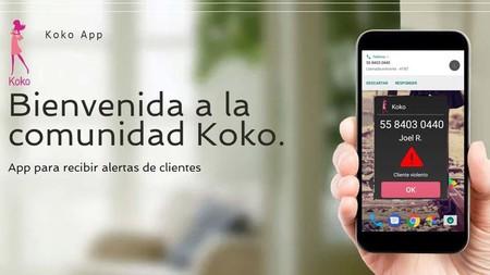 Koko, la aplicación para proteger a las escorts en México de los abusos de sus clientes