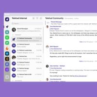Telefuel es un cliente de Telegram para power users, con carpetas, áreas de trabajo, filtros, atajos de teclado y más