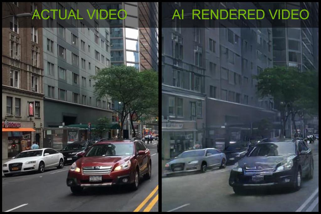 Del mundo real a los gráficos 3D: NVIDIA muestra la primera demo de un videojuego renderizado mediante IA