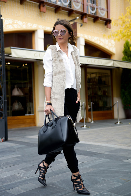 Look Working Girl Oficina Street Style 3