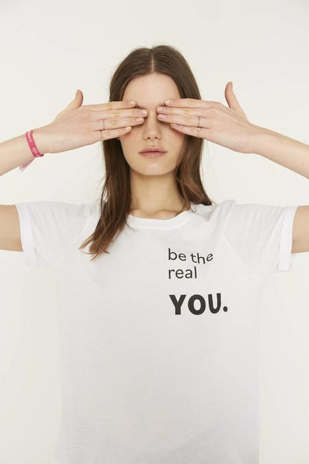 Camiseta Be The Real You 4613