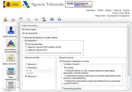 Disponible el programa de la AEAT para el cálculo del IRPF 2012 actualizado