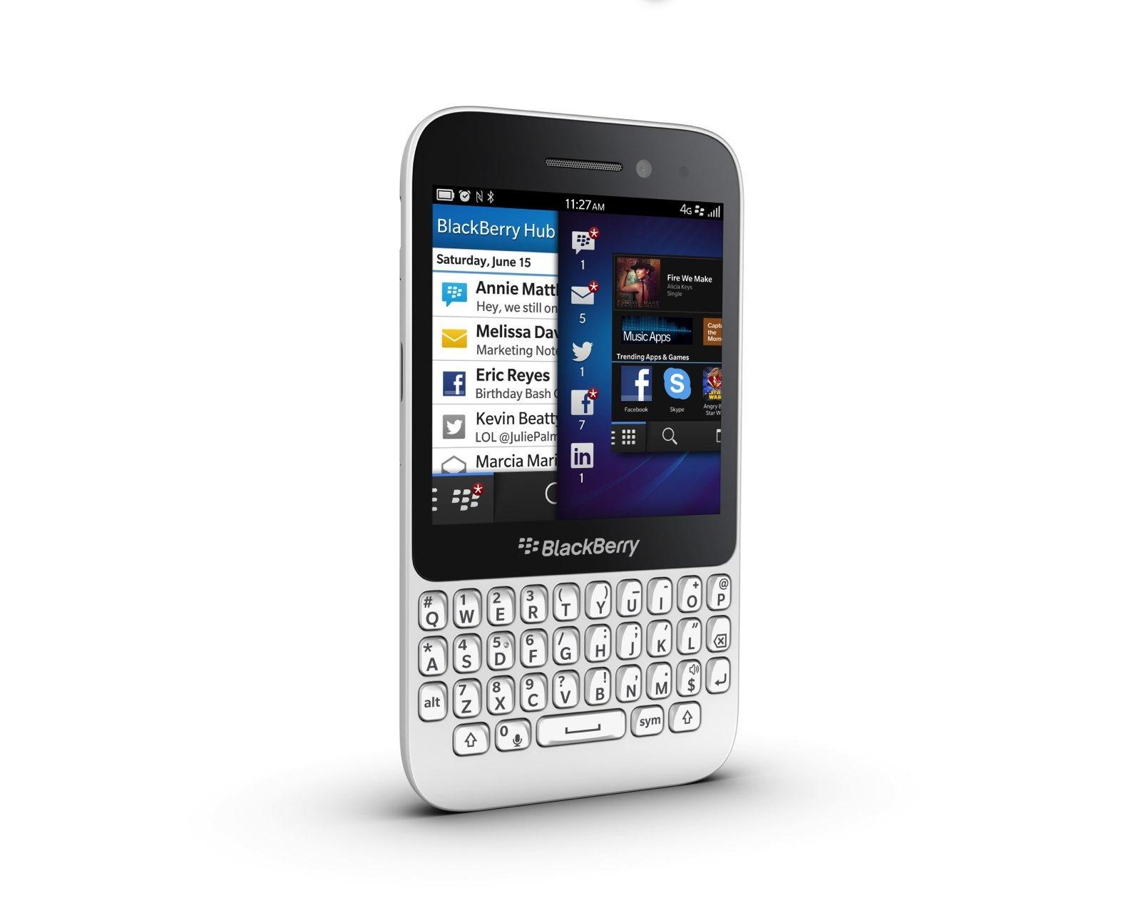 Foto de Blackberry Q5, presentación oficial (4/9)