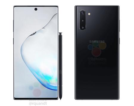 Samsung Galaxy Note 10 Imagenes Oficiales Negro