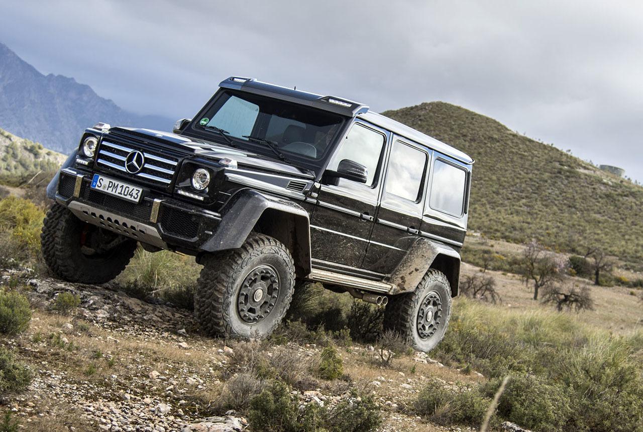 Foto de Mercedes-Benz G 500 4x4², toma de contacto (42/127)