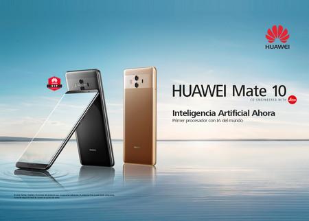 Huawei Mate 10 rebajado en las Mega Ofertas de MediaMarkt: por 299 euros hasta el 14 de febrero
