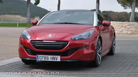 Peugeot RCZ 2013 frontal