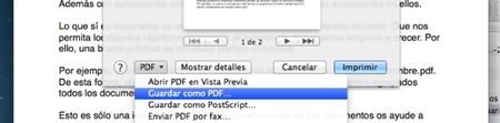 Impresoras PDF