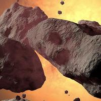 Un mapa con casi 30.000 asteroides y cometas para celebrar los cuatro años de observaciones del NEOWISE