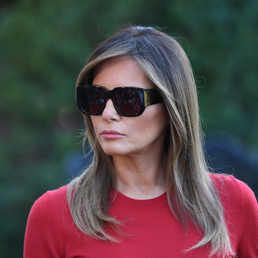 El impecable look de Melania Trump para viajar en el 'Air Force One'
