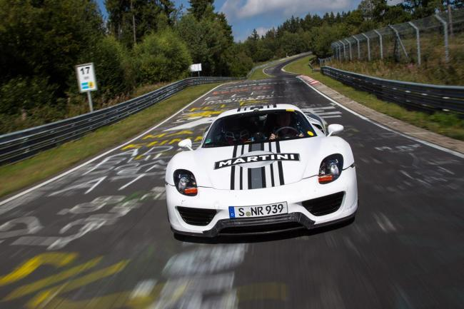 Porsche 918 Spyder en Nürburgring Nordschleife