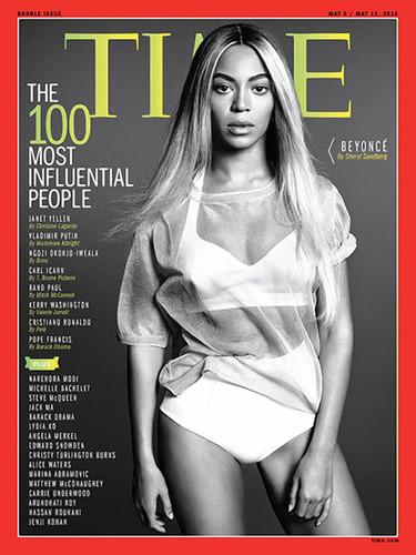 Phoebe Philo y Beyoncé en la lista de Time de las 100 personas más influyentes de 2014