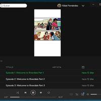 Spotify sigue explorando formatos, y ahora lo intenta con una serie de cómics animados