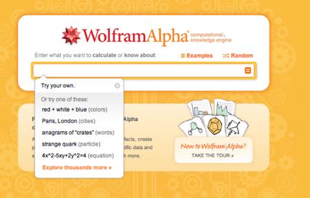 Wolfram Alpha, a la cabeza de los buscadores inteligentes