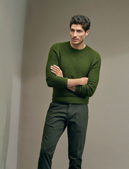 Ryan Kennedy Massimo Dutti Pre Spring 2016 Lookbook 004