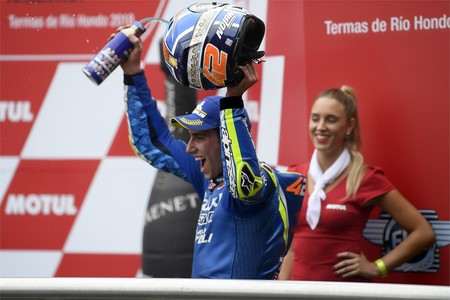 ¡Confirmado! Álex Rins seguirá siendo piloto de Suzuki en MotoGP hasta 2020