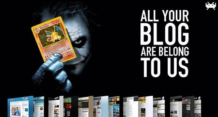 All your blog are belong to us (XCVI)