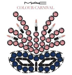 Este año por Carnavales presume de maquillaje chic con la nueva colección de MAC