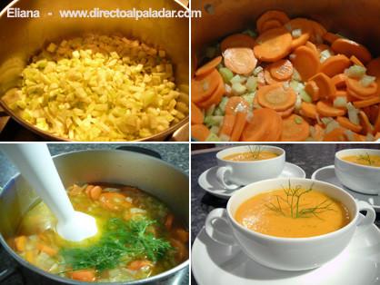 Crema hinojo zanahoria1