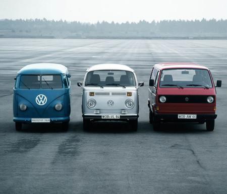 Volkswagen Kombi T1, T2 y T3