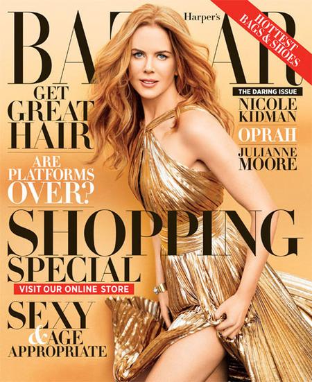 Nicole Kidman in Bazaar
